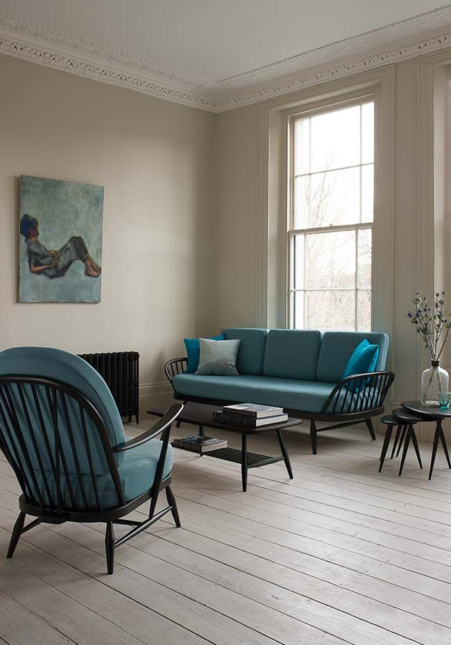 51 living room interior ideas - ercol blak furniture