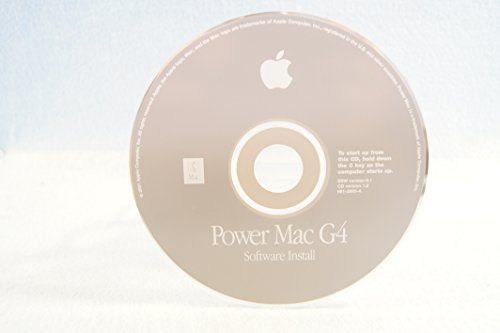 Power Mac G4 Software Restore Genuine Macintosh Mac Part Number: 691-2985-A SSW Version 9.1-Apple Operating System Computer Software Program Replacement Disc PC