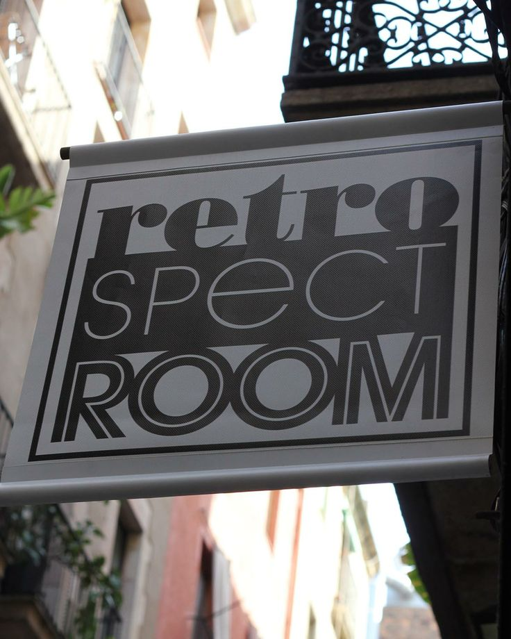 Retrospectroom Shop Is Now Open! Located in Born at Canvis Nous 9, Barcelona. We sell furniture, lighting, glasses and other decorative objects following the 50's, 60's and 70's aesthetics. Hope to see you there!