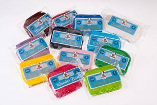 Colori dell'arcobaleno!! Pasta di zucchero - Sugar Paste - www.pasticciamo.it