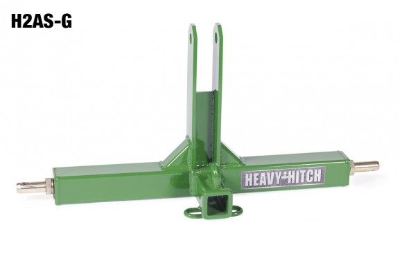 Category 2 Three Point Receiver Hitch Adapter   Heavy Hitch   Made in the USA   $289.00