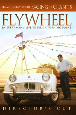 Flywheel (2003) A dishonest used car salesman decides to become the salesman that God wants him to be - with surprising results. Rosetta Harris Armstrong, Lisa Arnold, Blake Baile...TS