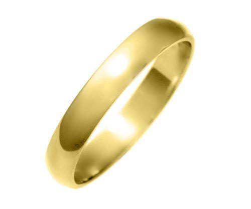 18 Karat (750) Gold 3mm Herren – Trauring/Ehering/Hochzeitsring 2,9 Gramm Ringgröße 65 (20.7) | Your #1 Source for Jewelry and Accessories