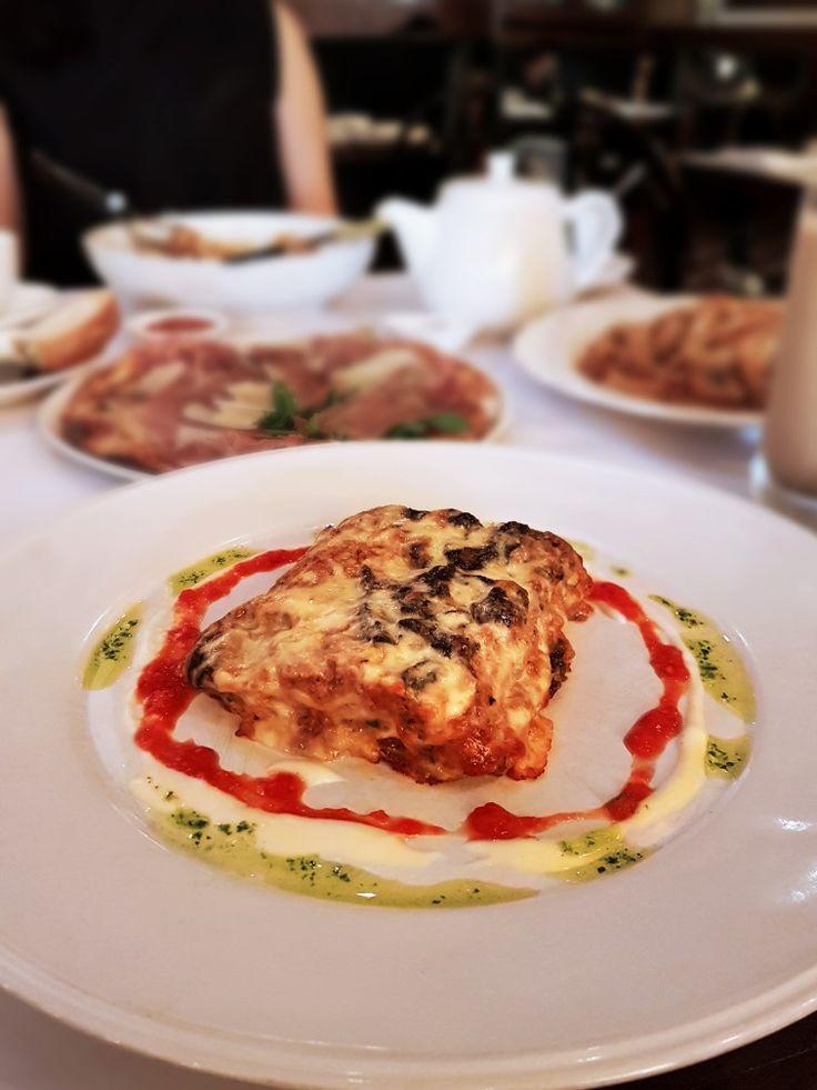 """Lasagna"", Caffe Milano, Jakarta"