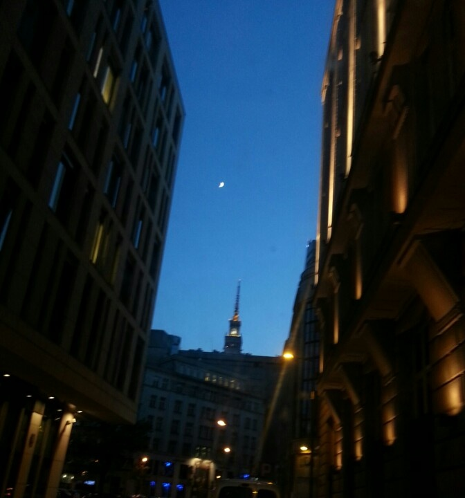Warsaw by night // Warszawa nocą