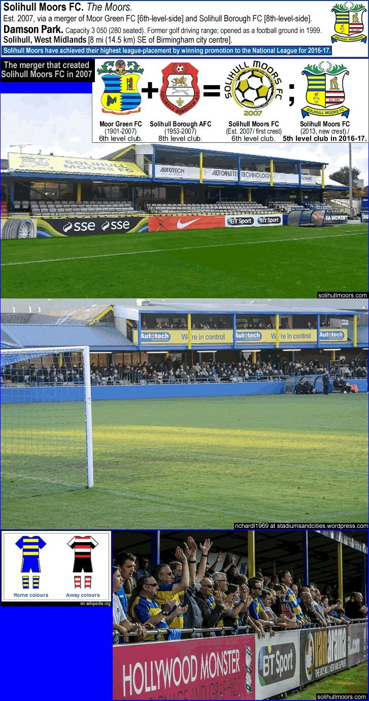 Damson Park, Solihull Moors of England.