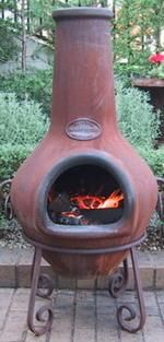 southwestern patio fire places teracotta - Google Search