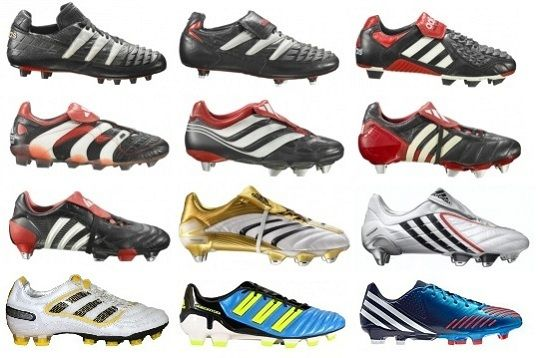 Adidas Predators - from 1994 to 2012. How did it take me so long to get a pair? I do not know.