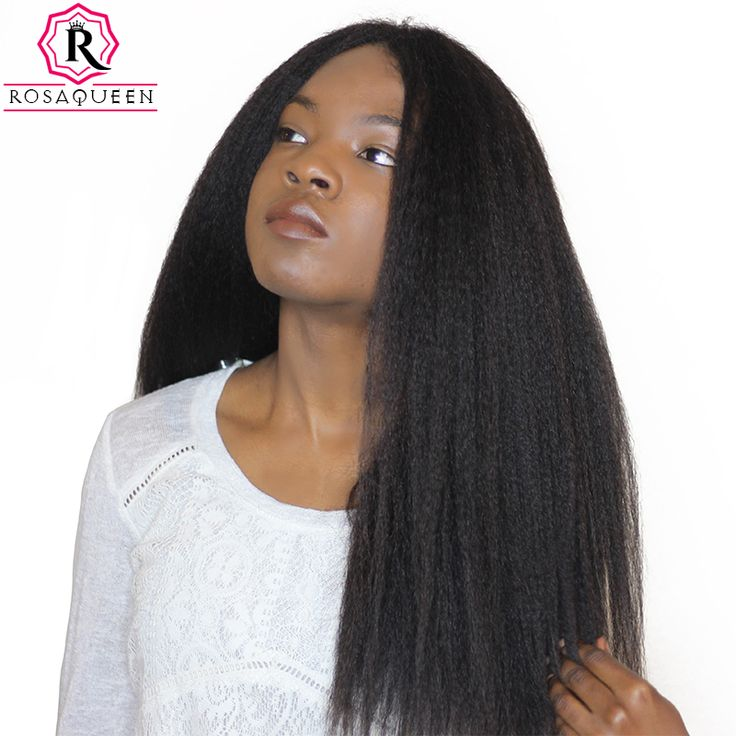 Cheap hair brazilian hair, Buy Quality hair weaving products directly from China hair brazilian Suppliers: Kinky Straight Hair Brazilian Hair Weave Bundles Coarse Yaki 100% Human Remy Hair Extensions Rosa Queen Hair Products