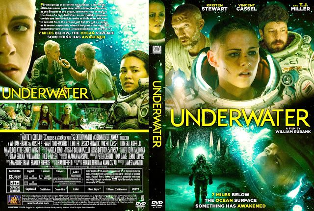 Underwater Dvd Cover In 2020 Dvd Covers Movie Blog Custom Dvd