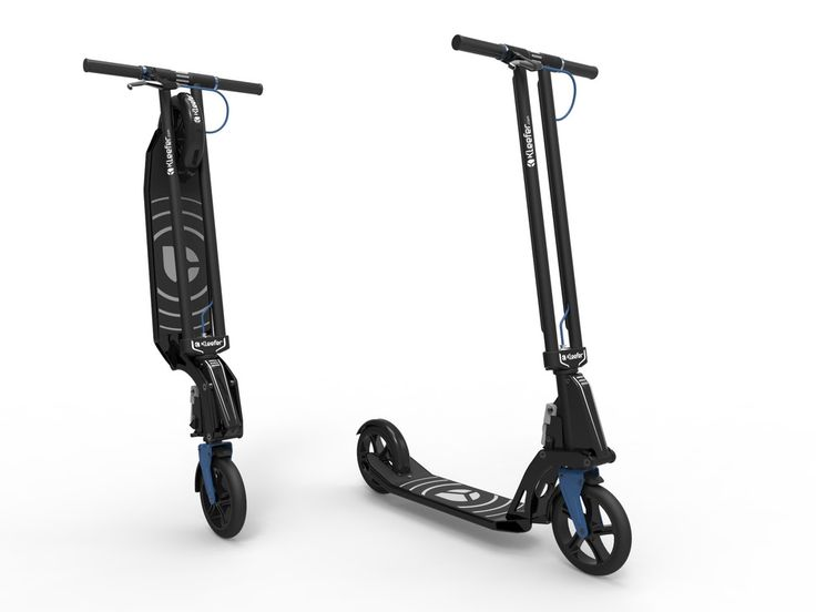 Kleefer Pure-180. The most elegant kick scooter for adults.