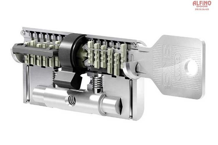 Κλειδαριές ασφαλείας EVVA 3KS plus key
