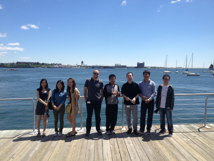 It's a beautiful day in #Boston today! Our Cambridge Interns are out and about enjoying a Boston harbor cruise.  #vmware #vmwareu
