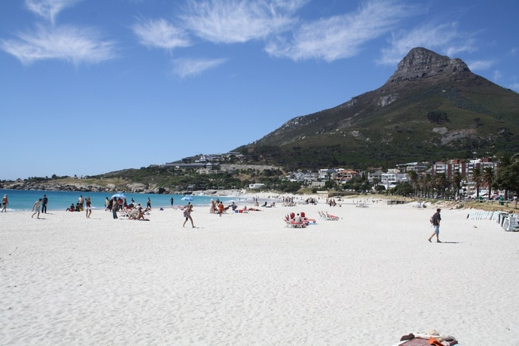 The beach at Camps Bay #capetown #beaches