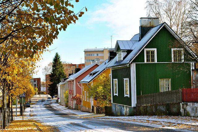 Vanhakaupunki, Suomi