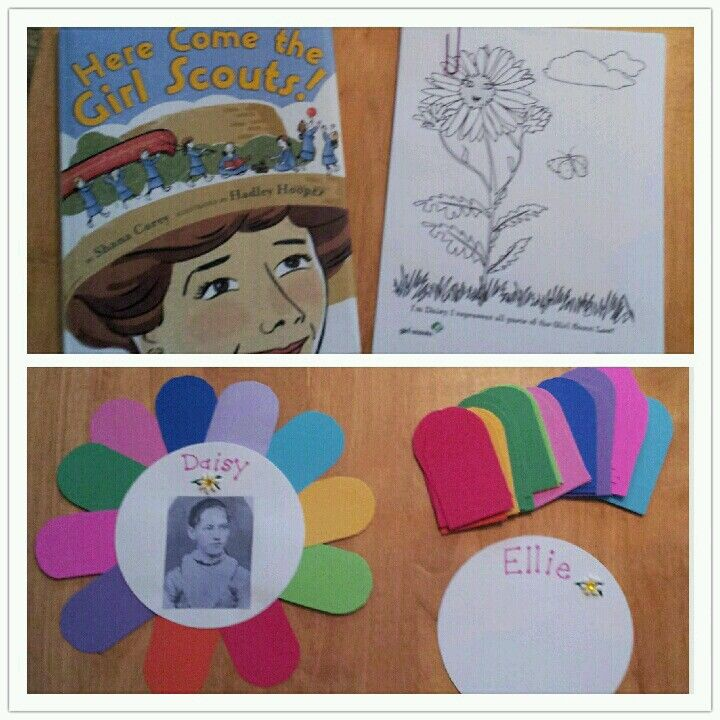 first meeting: reading story of Daisy Low while coloring, then drawing self portraits and telling about ourselves on the petals we place: Girlscouts Boyscout, Girls Scouts Daisies, Daisey, Daisies Brownies Juniors, 720 720, Daisies Girls, Daisies Scouts, Scouts Ideas, Daisies Ideas