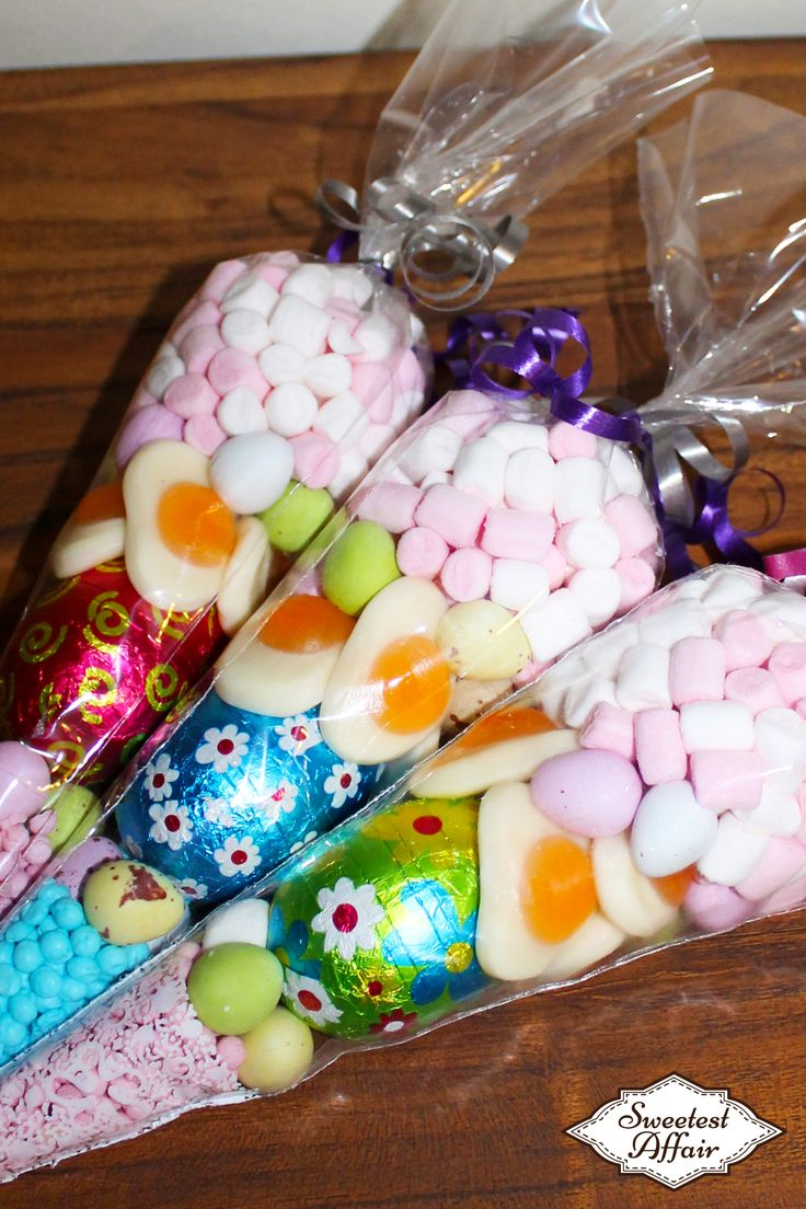 Sweetest Affairs Easter Sweet Cones http://www.ebay.co.uk/usr/sweetestaffair