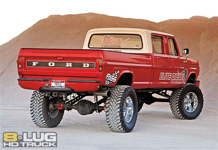 1972 Ford F250 Right Rear Angle