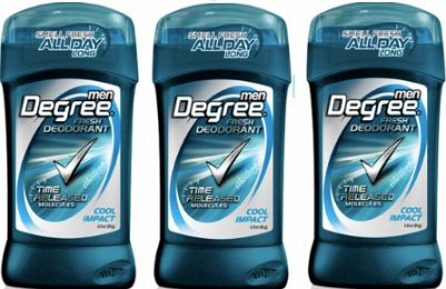 Walgreens: Degree for Men Deodorant Only $0.49!