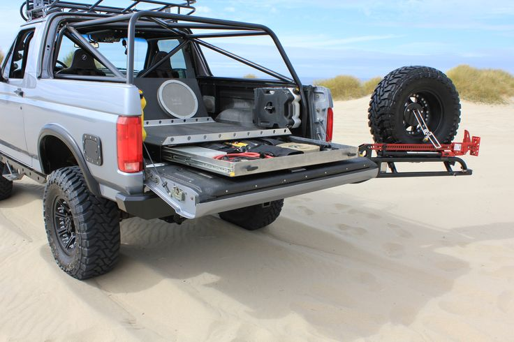 JB Custom Fabrication LLC 95' Bronco (tool/gun storage)