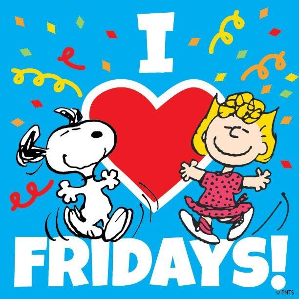Snoopy loves Fridays
