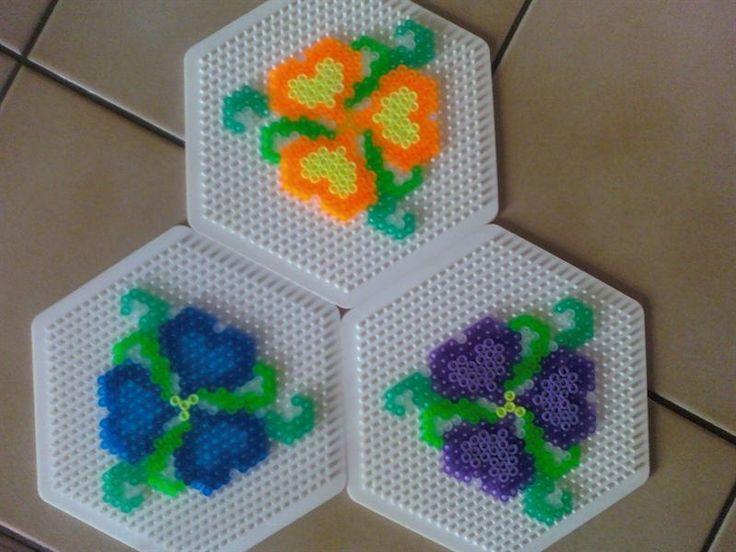 Flowers perler beads by Angie W.- -Perler® | Gallery