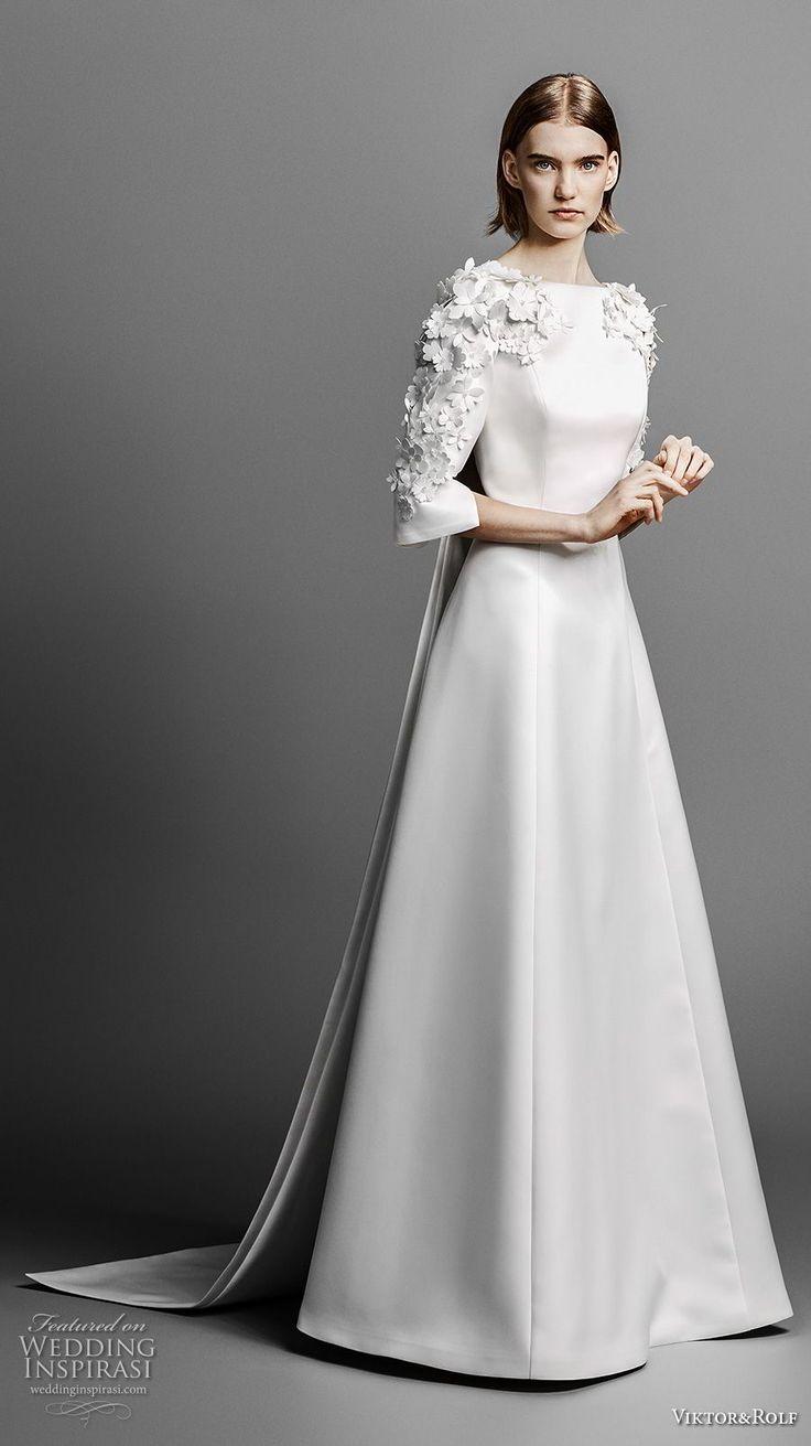 Viktor & Rolf Frühling 2019 Brautkleider- RUSHWORLD- # Kleid #Kleider #RUSHWORLD #S …