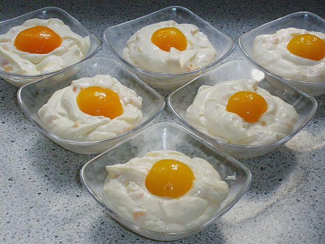 Beste Kuchen: Spiegelei Dessert