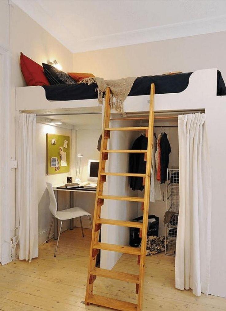 15 brillantes idées pour aménager une petite chambre à coucher