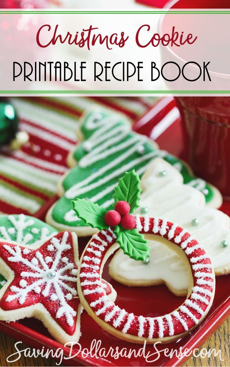 Grab this Christmas Cookies Recipe Book free today!
