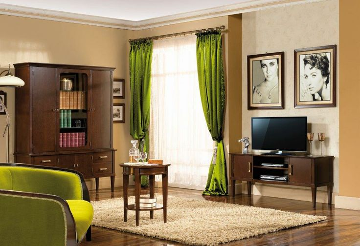 Salon z kol. Tanzanit/ Jafra; Living room, col. Tanzanit from Jafra