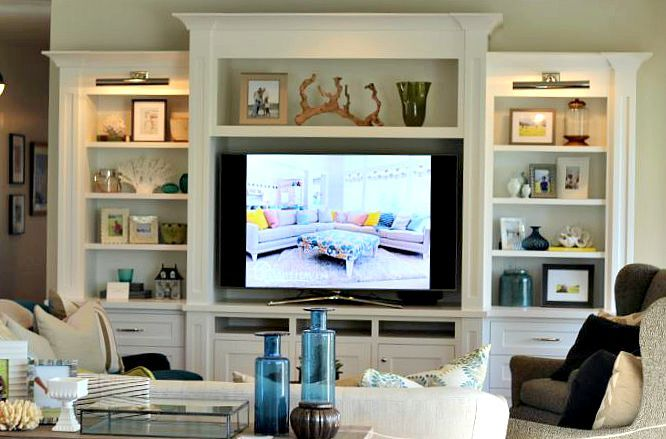Built in storage ideas bookshelves pinterest living room room and living room built ins for Built in designs living room