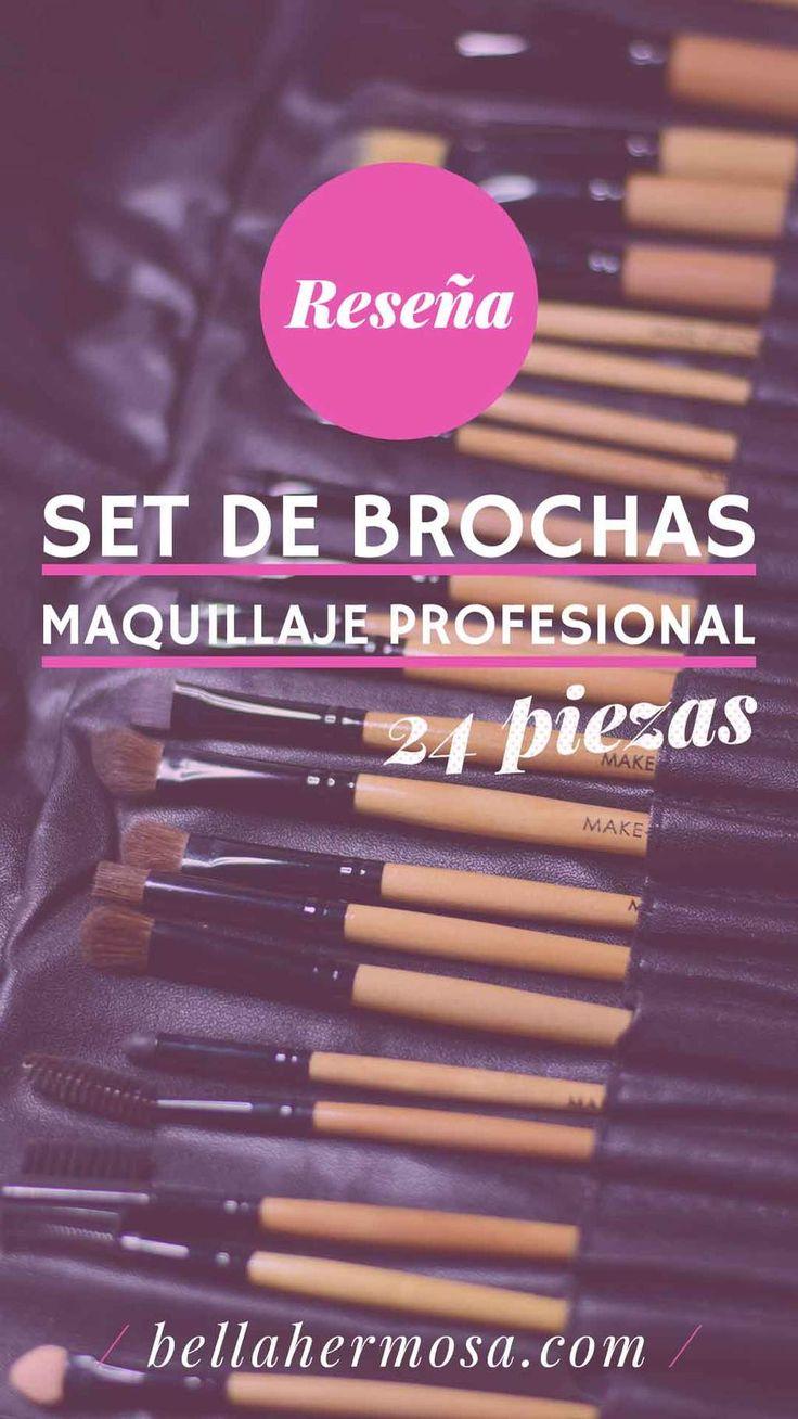 Hoy les traigo una reseña sobre un set de brochas de maquillaje. Se trata delset de 24 piezas de la marca MAKE-UP FOR YOU que trae incluido desde las básicas hasta las indispensables para crear un maquill...