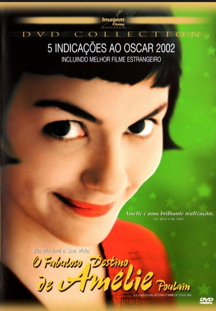 O fabuloso destino de Amélie Poulain; comédia; 2001; legendado; 98 min