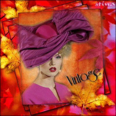 """Vintage Vision of Beauty ~ Vintage Blingee by stina scott ~  """"Every saint has a past and every sinner has a future."""" ~ Oscar Wilde"""