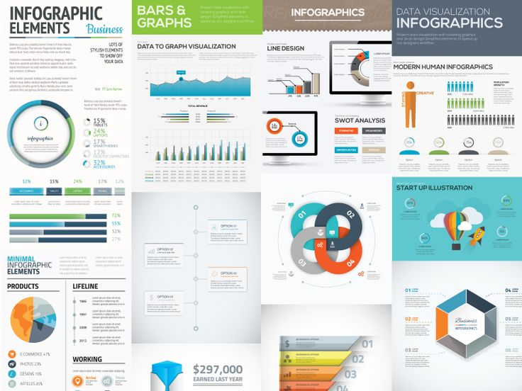 Free Download : Infographic Vector Templates