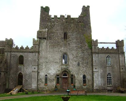 Perhaps the most haunted castle in Ireland is Leap Castle. More than 400 years ago, in 1532, brother turned against brother to shed blood. One was a warrior who rushed into the chapel and used his sword to slay the priest who was his brother. The priest fell across the altar and died. The chapel is known as Bloody Chapel since that time. The dungeon in the castle is called an oubliette. Prisoners pushed into the oubliette fell eight feet onto spikes coming up from the floor. Leap Castle is…