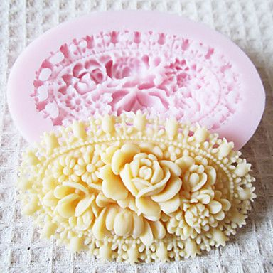 3D Flower Silicone Mold Fondant Molds Sugar Craft Tools Chocolate Mould  For Cakes – USD $ 3.99