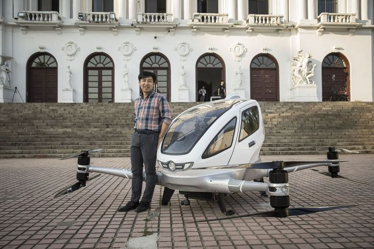 Your Future Commute Could Be by Taxi Drone
