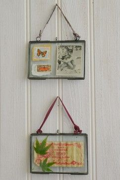Double sided glass photo frames rustic-frames