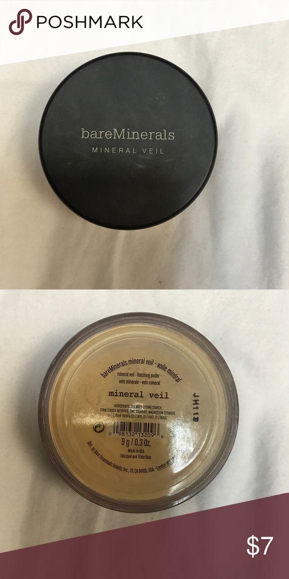 LIKE NEW bareMinerals Mineral Veil BareMinerals Mineral Veil! bareMinerals Makeup