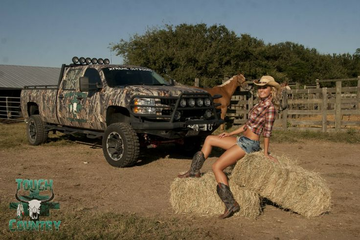 bad ass trucks and woman