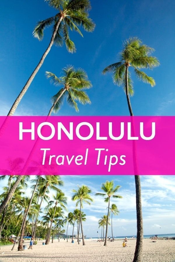 Insider Travel Tips - Things to do in Honolulu, Hawaii