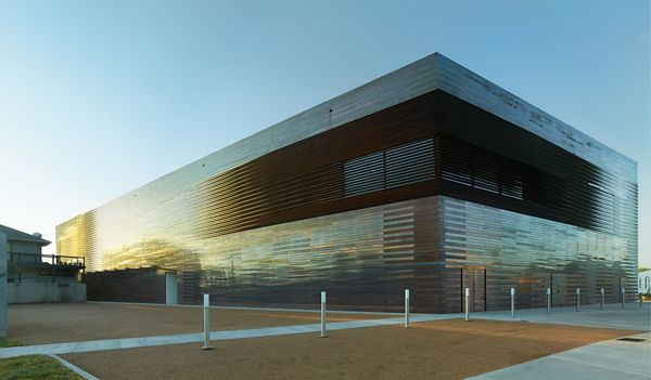 Disappearing Buildings...Louisiana State Museum by Trahan Architects, via Behance