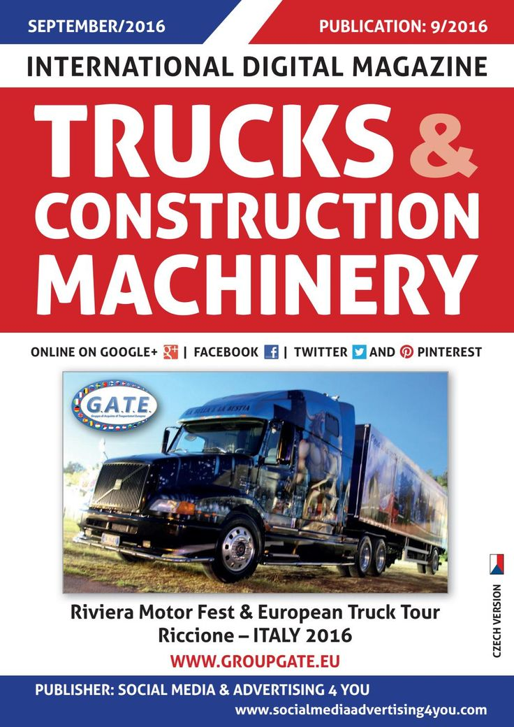 TRUCKS & CONSTRUCTION MACHINERY - September 2016