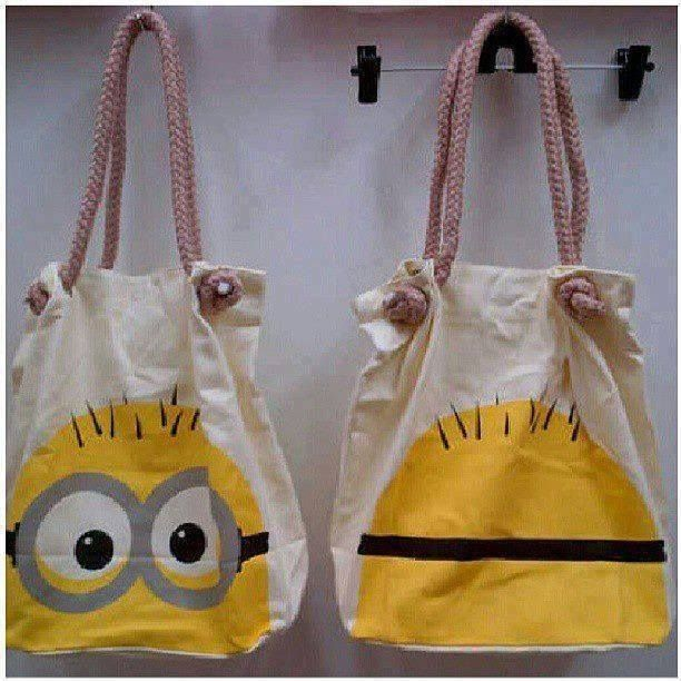 Make mini minion bags at party - let the kids decorate then maybe?