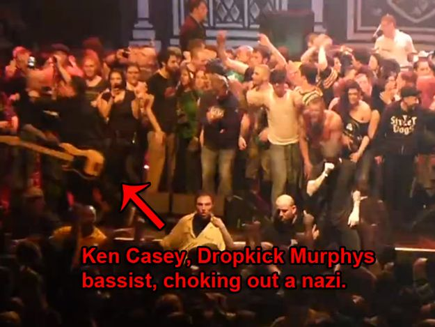 Just another reason to Love Dropkick Murphys :)