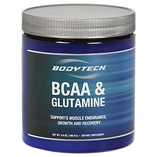 BCAA and Glutamine (6.9 Ounces Powder)  by BodyTech at the Vitamin Shoppe