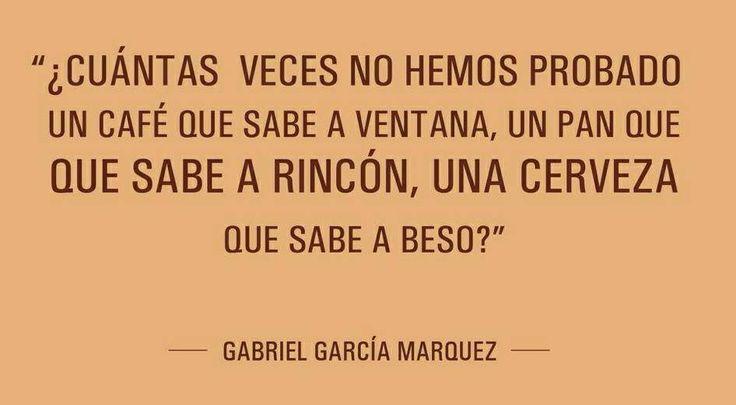 Esos recuerdos. Gabriel García Márquez