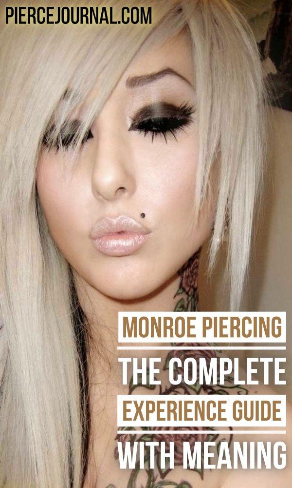 Monroe Piercing: Der komplette Erfahrungsleitfaden mit Sinn  – Women Hairstyle | Makeup